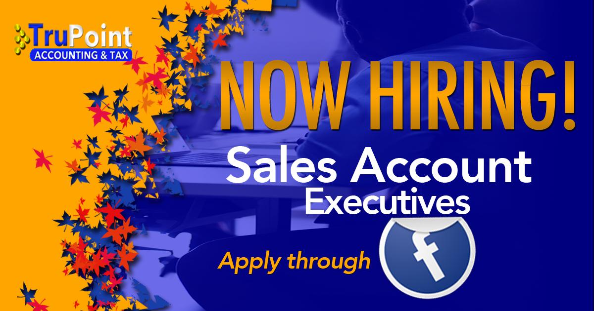 Hiring Sales Account Executives